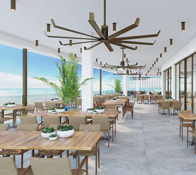 Oceanic Outdoor Dining