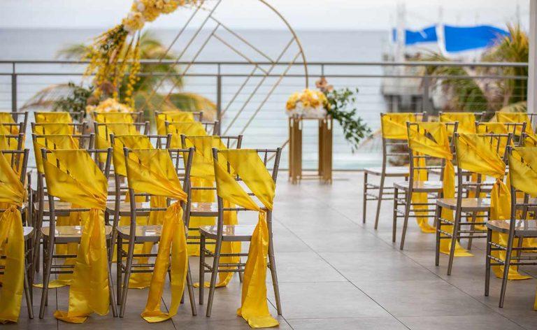 Wedding Event Ceremony Beach Front
